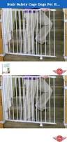 Child Stair Gates Stair Safety Cage Dogs Pet Home Indoor Fence Child Kids Children