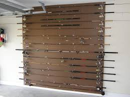 Fishing Rod Storage Cabinet Fishing Rod Rack Holder Ideas Outdoor News Forum