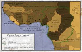 Colonial Africa Map by Mof 02 Decolonised Africa Alternate History Discussion