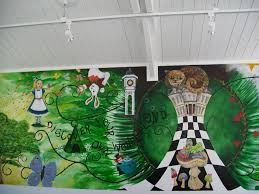 28 alice in wonderland wall murals alice in wonderland alice in wonderland wall murals alice mural heyuguys