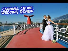 carnival weddings carnival cruise wedding review