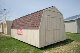 Gambrel Style Roof Get A 10 U0027x20 U2032 Gambrel Shed From Premium Pole Buildings And Storage