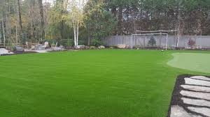 Backyard Chipping Green Seattle U0026 Bellevue Artificial Turf U0026 Lawn Installation Synthetic