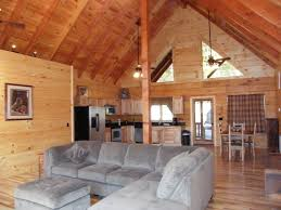 holiday mountain log cabin a new luxury homeaway luray