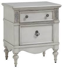 giselle nightstand traditional nightstands and bedside tables
