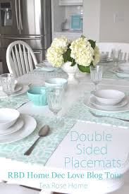 tea rose home tutorial double sided placemats with riley blake
