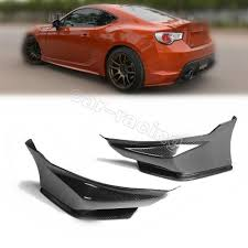 subaru brz spoiler rear spoiler bumper splitter lip fit for toyota gt86 subaru brz