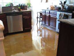 Concrete Kitchen Floor by Concrete Tabletop And Kitchen Floor Blue Earth Coatings Llc