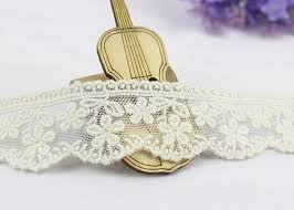 lace ribbon by the yard width white cotton lace trim by the yard scalloped floral mesh