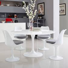 Round 54 Inch Dining Table Lippa 54 U2033or 60 U2033 Round Dining Table Regular Or Marble Top U2013 Modern Wow