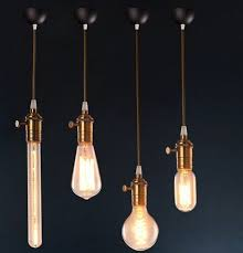 industrial halogen light fixtures loft style droplight edison industrial vintage pendant lights