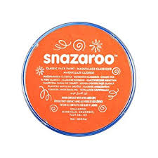 orange paint amazon com snazaroo classic face paint 18ml orange