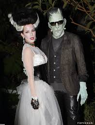 len wiseman and kate beckinsale as frankenstein and his bride