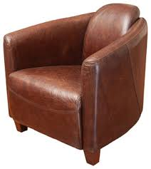 Club Chair Rocket Club Chair Brown Transitional Armchairs And Accent