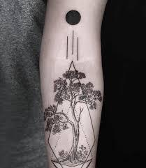 100 geometric forearm tattoo fantastic star geometric