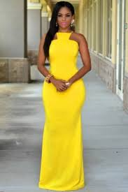 yellow dress dress yellow maxi maxi cocktail dress wots hot right now