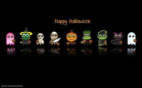 halloween hd widescreen wallpaper happy halloween funny characters pumpkin ghost vampire zombie