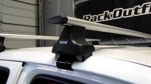 2005 Toyota Tacoma Roof Rack by Toyota Tacoma Quad Cab U002705 U002713 With Thule 480r Traverse Aeroblade