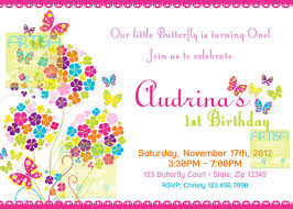 butterfly invitations butterfly invitation bright color butterflies birthday