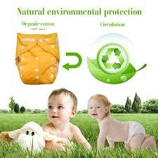 Cloth Diaper Starter Kit Buy Alva Reusable One Size Baby Cloth Pocket Diapers 6 Pcs 6