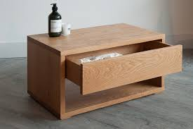 Plywood Bedside Table by Unique Oak Bedside Tables As Classic Decor U2014 New Interior Ideas