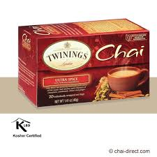 twinings chai ultra spice chai tea bags