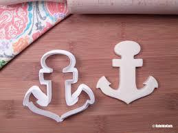 anchor cookie cutter summer cookie cutter beach cookie cutter