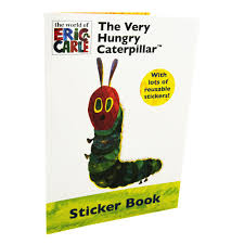 the very hungry caterpillar sticker book by eric carle the very hungry caterpillar sticker book zoom
