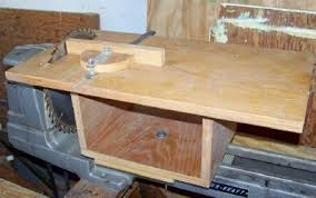 Wooden Table With Bench Home Made Table Saws