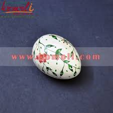 paper mache egg painted colourful paper mache handmade easter egg decorations
