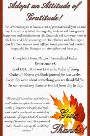 november thanksgiving personal progress handout craft shack