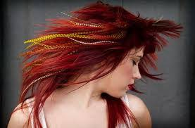 hair feathers feather hair extensions hypnotic salon las vegas