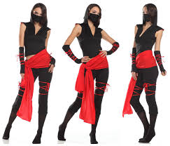 Halloween Costume Ninja Ninja Costumes Women Woman Mark Fancy Party Deadly