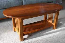 shaker style side table hand crafted long cherry two shelf shaker style side table by small