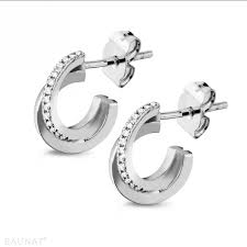 white gold diamond earrings white gold diamond earrings 0 20 carat diamond design baunat