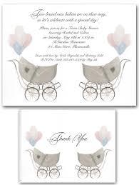 twin baby shower invitations templates ideas invitations ideas