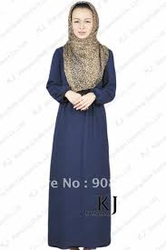 loyal blue muslim queen dress islamic clothing for fashion modest
