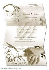 carte mariage gratuite faire part mariage faire part en ligne création exemples