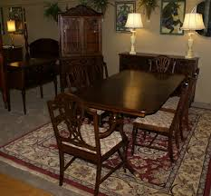 antique dining room sets complete 1930s walnut dining room set dining room