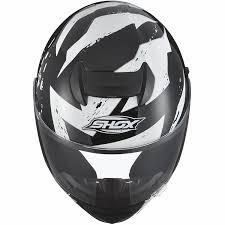 American Flag Visor Colors Black And White Skull Motorcycle Helmet With White