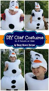 olaf costume diy olaf costume in 2 hours or less busy s helper