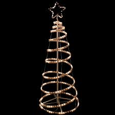 accessories 6 foot spiral tree small white