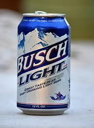 busch light calories and carbs healthiest beers