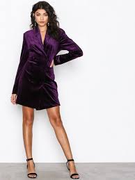 suit dress the suit dress nly trend purple party dresses clothing