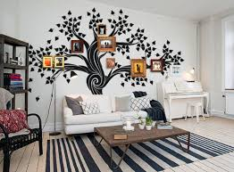 Tree Wall Decals For Living Room Family Tree Wall Decals For Nursery Ideas