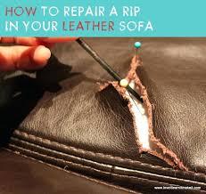 Leather Sofa Rip Repair Kit Leather Sofa Repair Kit Uk Fix Rip Your It Learn Make