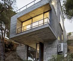 sloping house plans steep slope house design goes vertical just like trees