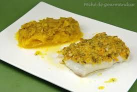 cuisiner dos de cabillaud dos de cabillaud en croûte d amandes et pistaches compotée de