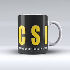 csi coffee mug police life