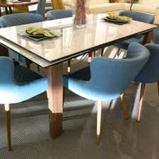 Torrance Dining Table Contemporary Lifestyles Furniture 95 Photos 59 Reviews